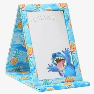 Disney Lilo and Stitch tri fold pineapples mirror